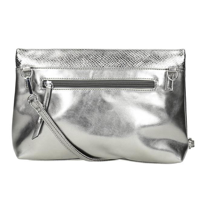 Silver Crossbody handbag bata, silver , 961-1501 - 26