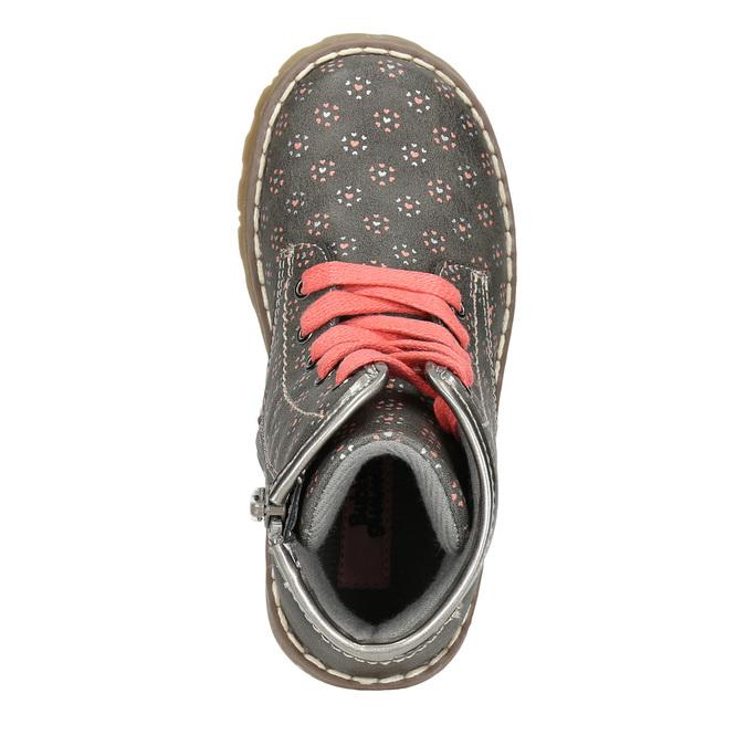 Children's ankle shoes bubblegummer, gray , 221-2606 - 26