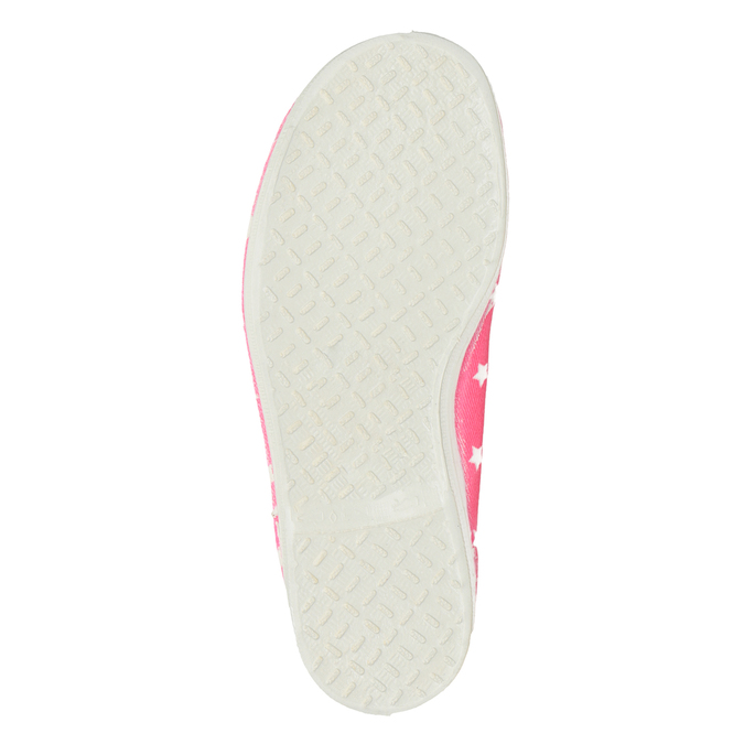 Children's Gym Shoes with Stars bata, pink , 379-5217 - 17