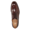 Men's brown leather shoes bata, brown , 826-4681 - 17