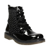 Children's Ankle Boots with Rhinestones mini-b, black , 321-6611 - 13