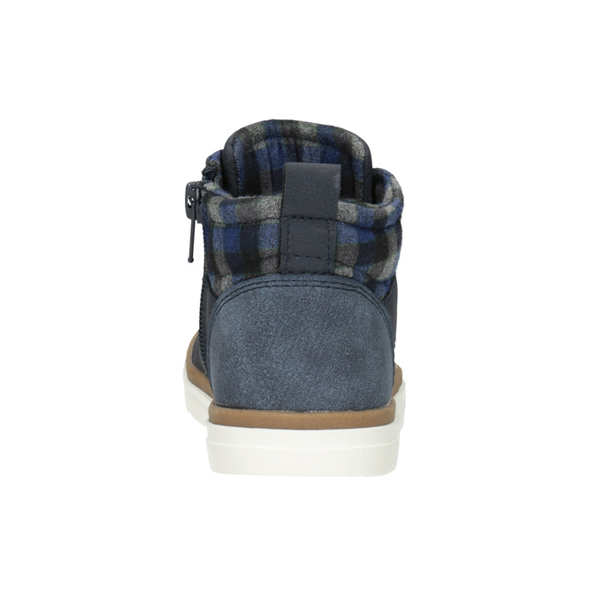 Children's High Top Shoes mini-b, blue , 291-9172 - 16
