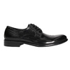 Men's leather Brogue shoes bata, black , 824-6227 - 15
