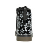 Lace-Up Boots with Stars mini-b, black , 291-6167 - 16