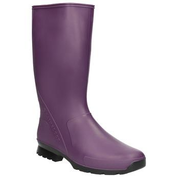 Ladies' Purple Wellington Boots bata, violet , 592-9140 - 13