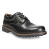 Men's leather shoes bata, black , 826-6619 - 13