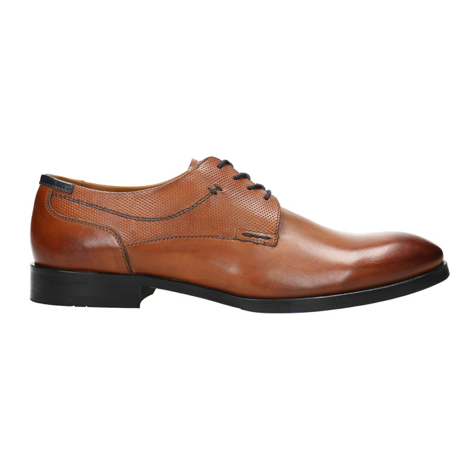 Men's brown Derby shoes bata, brown , 826-3915 - 15