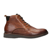 Leather Ankle Boots bata, brown , 896-3675 - 26