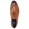 Men's leather Ombré shoes bata, brown , 826-3914 - 26