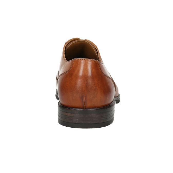 Men's leather Ombré shoes bata, brown , 826-3914 - 17