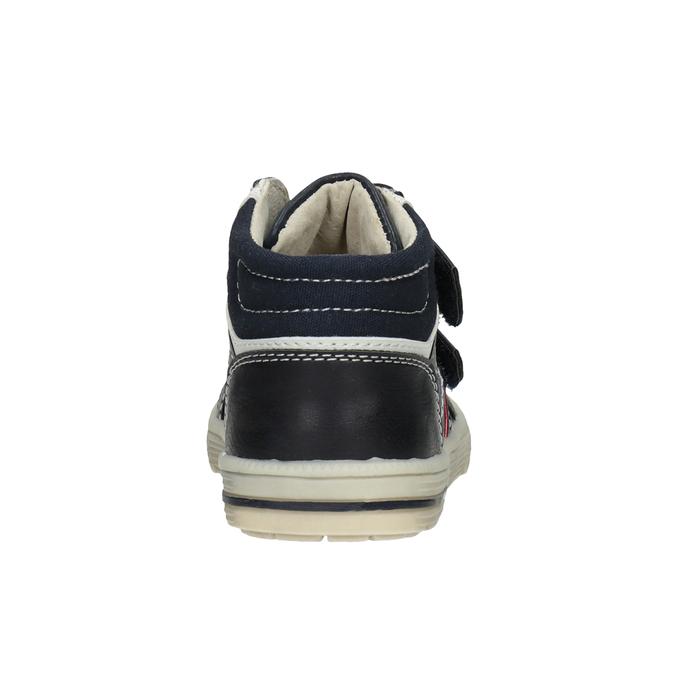 Kids' ankle boots bubblegummer, blue , 111-9613 - 16