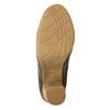 Ladies' wrinkled high boots bata, brown , 799-4614 - 19