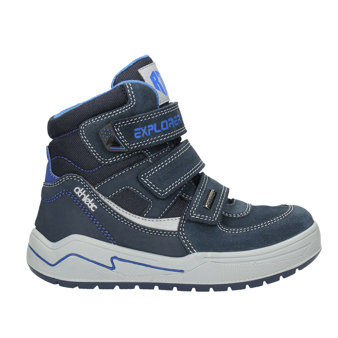 Children's Winter Boots mini-b, blue , 293-9615 - 15