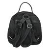 Ladies' Leather Backpack fredsbruder, black , 966-6054 - 16