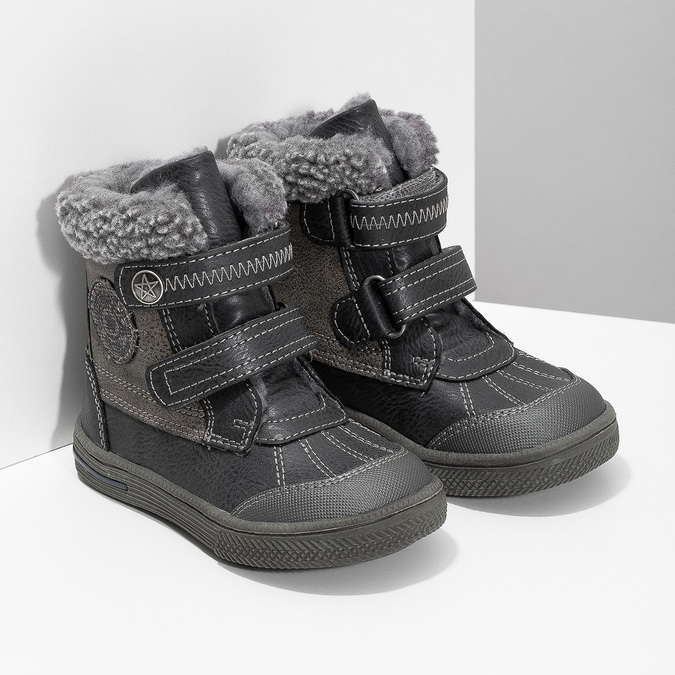 Children's Winter Boots bubblegummer, gray , 191-4619 - 26