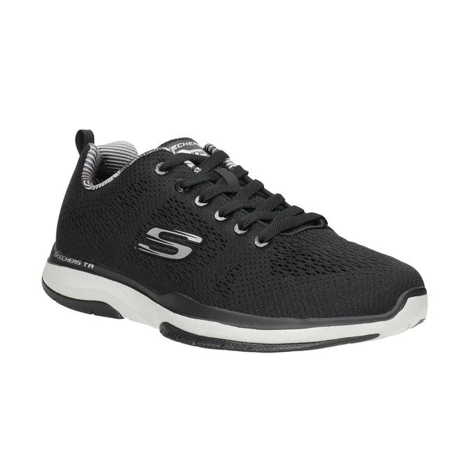 Black Men's Sneakers skechers, black , 809-6330 - 13