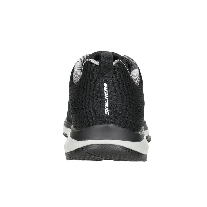 Black Men's Sneakers skechers, black , 809-6330 - 16