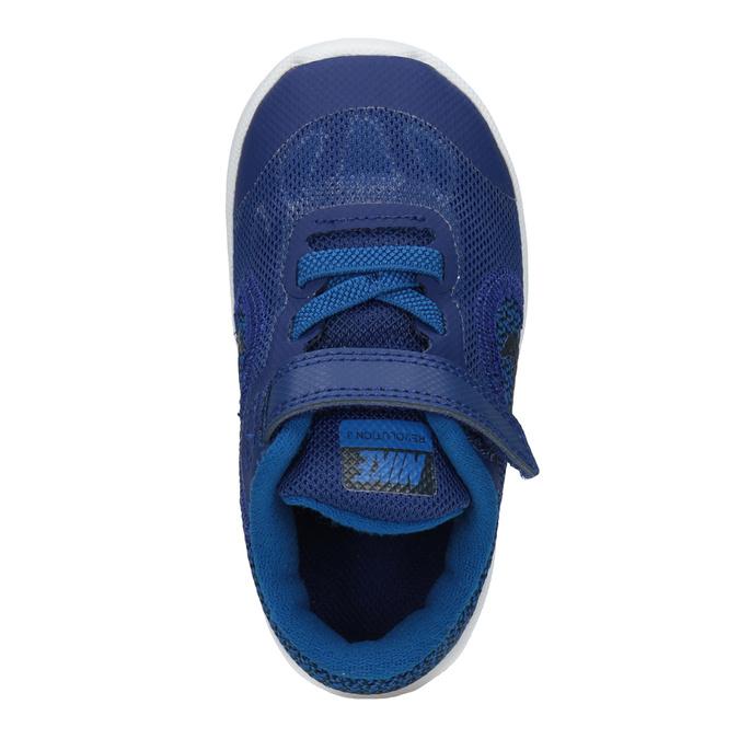 Blue Children's Sneakers nike, blue , 109-9132 - 15