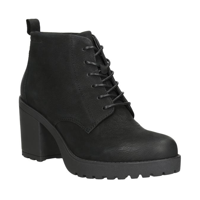 Ladies' High-Heeled Ankle Boots vagabond, black , 726-6016 - 13