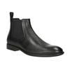 Men's Leather Chelsea Boots vagabond, black , 814-6024 - 13