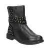 Girls' High Boots with Rhinestones mini-b, black , 291-6395 - 13
