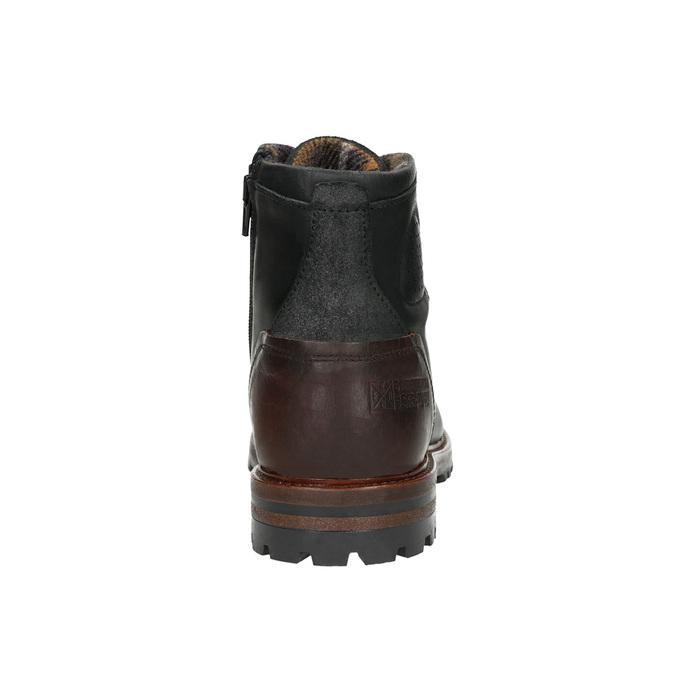 Men's Ankle Boots bata, black , 896-6665 - 17