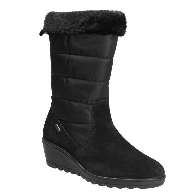 Ladies' Winter Boots comfit, black , 696-6624 - 13