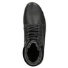 Men's Leather Winter Boots bata, black , 896-6672 - 26