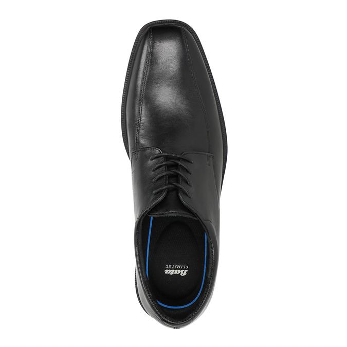 Men's Leather Shoes climatec, black , 824-6986 - 15