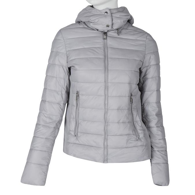 Ladies' Grey Hooded Jacket bata, gray , 979-1159 - 13