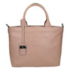 Beige Leather Handbag picard, beige , 964-6080 - 16