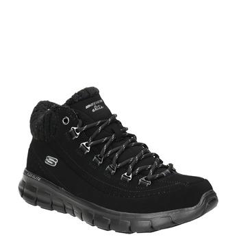 Ladies' ankle boots skechers, black , 501-6314 - 13
