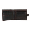 Men's leather wallet bata, brown , 944-4202 - 15