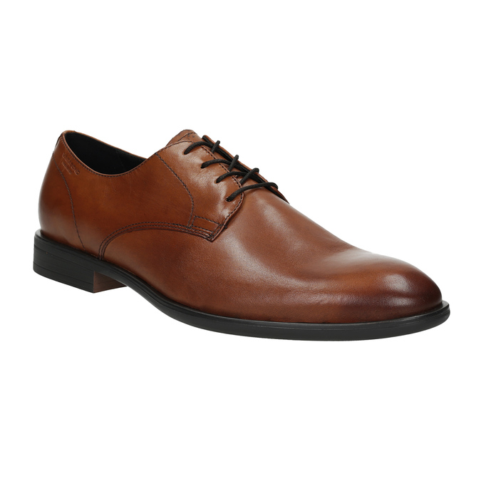 Men's leather shoes vagabond, brown , 824-3026 - 13