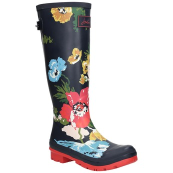 Ladies' flowered wellingtons joules, 502-9035 - 13
