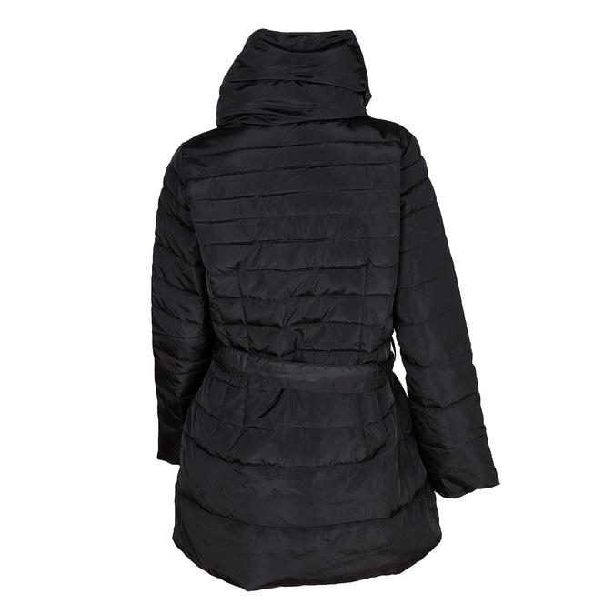 Ladies' quilted coat bata, black , 979-6164 - 26
