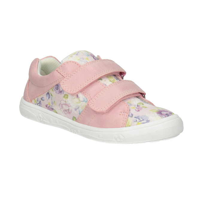 Girls' pink sneakers with a pattern mini-b, 221-5215 - 13