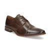 Men's Embellished Leather Shoes bata, brown , 826-4927 - 13