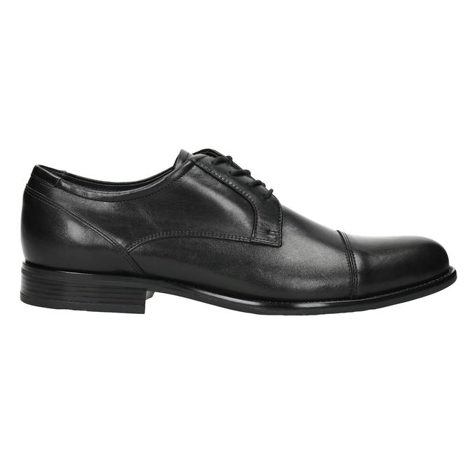 Men's Leather Derby Shoes bata, black , 824-6995 - 26