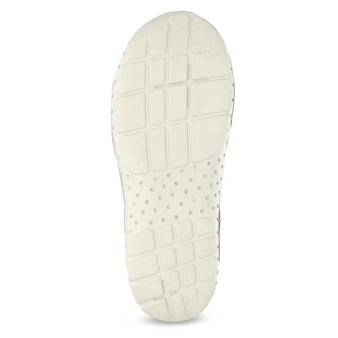 Ladies' leather sandals weinbrenner, white , 566-1608 - 18