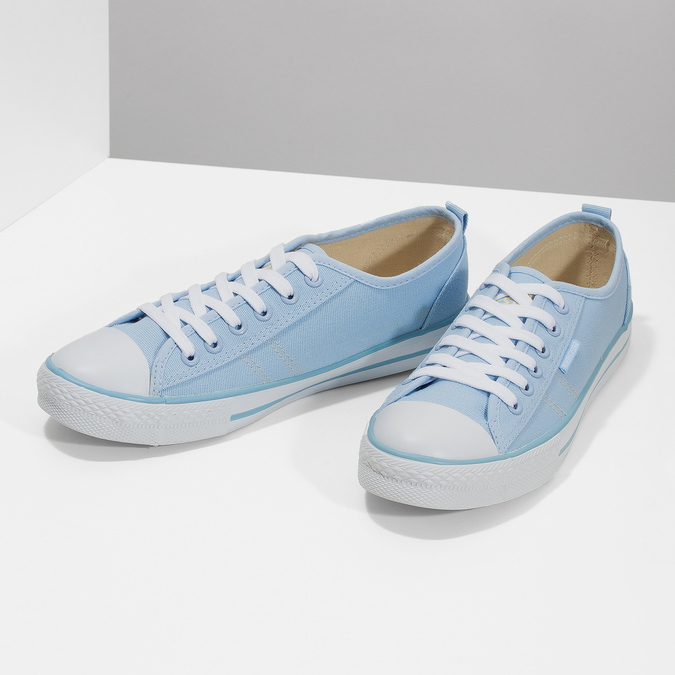 Ladies' blue sneakers north-star, blue , 589-9443 - 16