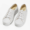 Ladies' casual leather shoes weinbrenner, gray , 546-1602 - 16