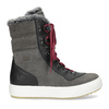 Ladies' leather snow boots weinbrenner, gray , 593-4601 - 19