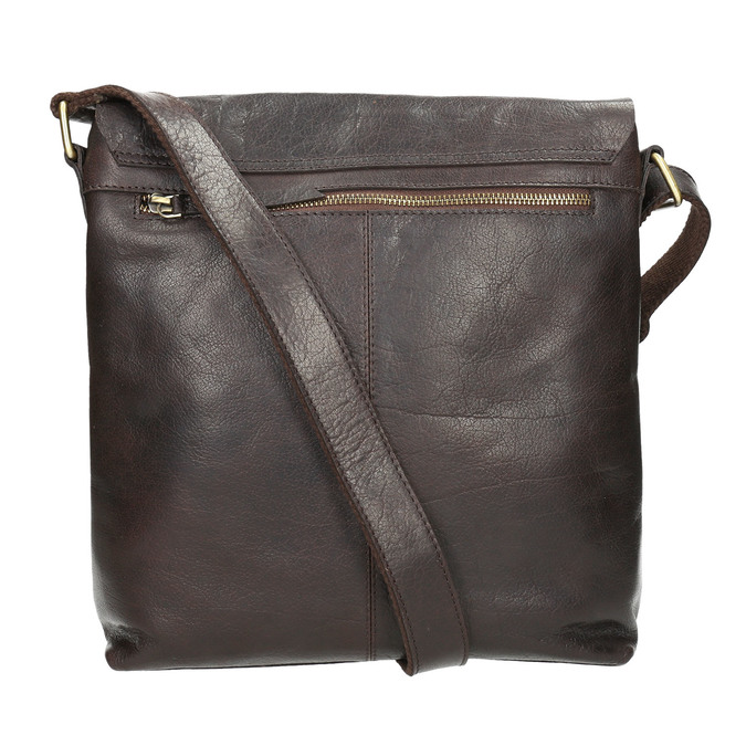 Men's Leather Bag bata, brown , 964-4234 - 26